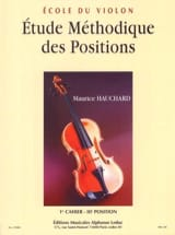 Maurice Hauchard - Study of Positions Volume 1 - Sheet Music - di-arezzo.co.uk