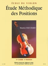 Maurice Hauchard - Study of Positions Volume 3 - Sheet Music - di-arezzo.co.uk