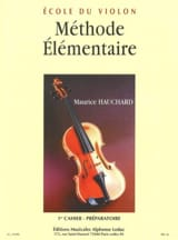 Méthode élémentaire – Cahier 1 - Maurice Hauchard - laflutedepan.com