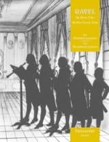 Ma Mère l'Oye - Quintette à Vents Maurice Ravel laflutedepan.com