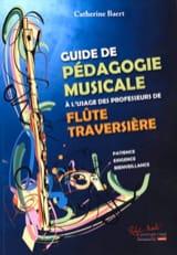 Guide de Pédagogie Musicale Catherine Baert Partition laflutedepan.com
