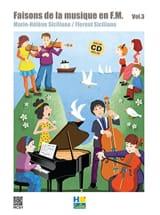 Faisons de la musique en FM - Volume 3 - SICILIANO - laflutedepan.com