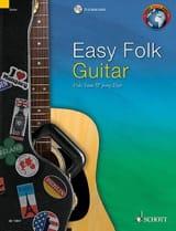 Easy Folk Guitar Traditionnels Partition Guitare - laflutedepan.com
