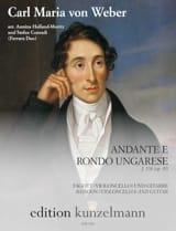 Andante e Rondo Ungarese - Basson (ou cello) et Guitare laflutedepan.com