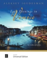 Four Evenings in Venice - Violon et piano laflutedepan.com