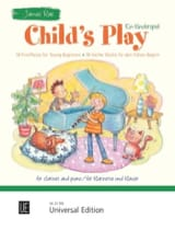 Child's Play - Clarinette et piano James Rae laflutedepan.com