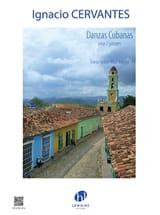 Danzas Cubanas - 2 Guitares Ignacio Cervantes laflutedepan.com