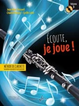 Jean-Marc FESSARD, Chantal BOULAY, Cyrille LEHN - Ecoute, je joue ! - Volume 3 CD-ROM - Partition - di-arezzo.fr