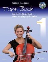 Gabriel Koeppen - Tune Book for the Cello Method - Volume 1 - Partition - di-arezzo.fr