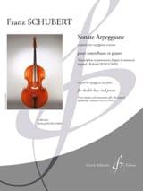 Sonate Arpeggione SCHUBERT Partition Contrebasse - laflutedepan.com