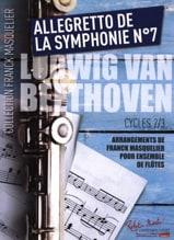 Allegretto de la Symphonie n° 7 - Ensemble de Flûtes + Contrebasse laflutedepan.com