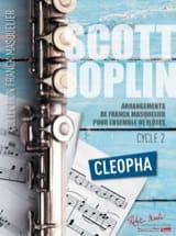 Scott Joplin - Cléopha - Ensemble de Flûtes (+ Contrebasse) - Partition - di-arezzo.fr