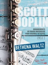 Scott Joplin - Bethena Waltz - Ensemble de Flûtes (+ Contrebasse) - Partition - di-arezzo.fr