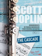 Scott Joplin - The Cascade - Ensemble de Flûtes (Contrebasse ad lib.) - Partition - di-arezzo.fr