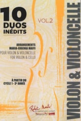 - 10 Unpublished Duos - Volume 2 - Sheet Music - di-arezzo.co.uk