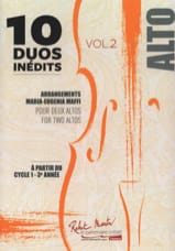 - 10 Duets Inédits vol. 2 - 2 Altos - Sheet Music - di-arezzo.co.uk