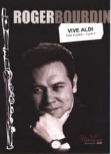 Vive Aldi Roger Bourdin Partition Flûte traversière - laflutedepan.com