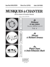 Holstein Jean-Paul / Level Pierre-Yves / Louvier Alain - Musics to sing - Volume 6 - Sheet Music - di-arezzo.com