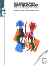 Sonatina canonica, Opus 196 (per due chitarre) - laflutedepan.com