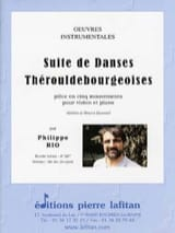 Philippe Rio - Suite of Thérouldbourgeois dances - Sheet Music - di-arezzo.co.uk