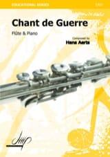 Chant de guerre - Hans Aerts - Partition - laflutedepan.com