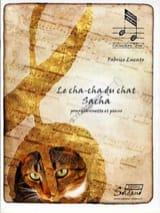 Le Cha-cha du chat Sacha Fabrice Lucato Partition laflutedepan.com
