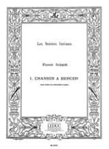 Chanson à bercer op. 19 n° 1 Florent Schmitt laflutedepan.com