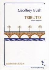 Tributes Geoffrey Bush Partition Clarinette - laflutedepan.com