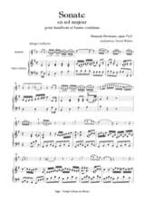Francois Devienne - 4ème Sonate, op. 71/1 - Hautbois et Basse - Partition - di-arezzo.fr