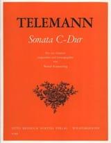 Georg Philipp Telemann - Sonata C-Dur - Partition - di-arezzo.fr