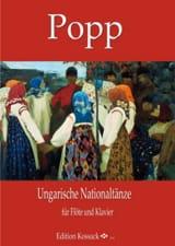 Ungarische Nationaltänze, Opus 311 Wilhelm Popp laflutedepan.com