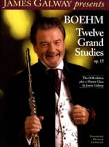 Theobald Boehm - Twelve Grand Studies, Opus 15 - Sheet Music - di-arezzo.com