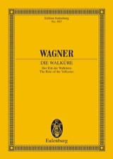 la Chevauchée des Walkyries Richard Wagner Partition laflutedepan.com