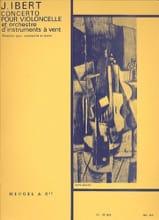 Concerto pour Violoncelle Jacques Ibert Partition laflutedepan.com