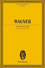 Richard Wagner - Tannhäuser Ouverture - Conducteur Poche - Partition - di-arezzo.fr