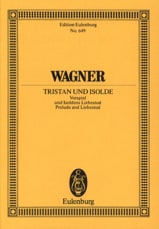 Richard Wagner - Tristan Und Isolde - Prelude and Isolde Death - Sheet Music - di-arezzo.co.uk
