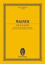 Richard Wagner - Watans Abschied und Feuerzauber WWV 86B - Sheet Music - di-arezzo.co.uk