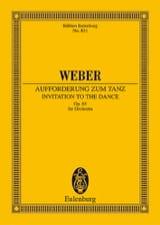 Carl Maria von Weber - Aufforderung zum Tanz - Partitur - Sheet Music - di-arezzo.co.uk