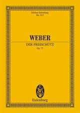 Der Freischütz Op. 77 Carl Maria von Weber Partition laflutedepan.com