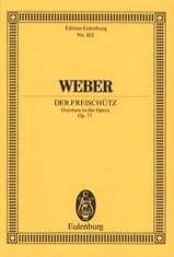 Der Freischütz, Ouverture - Conducteur laflutedepan