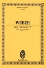 Der Freischütz, Ouverture - Conducteur - laflutedepan.com