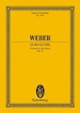 Carl Maria von Weber - Euryanthe, Ouvertüre – Partitur - Partition - di-arezzo.fr