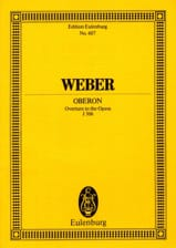 Carl Maria von Weber - Oberon, Ouverture - Partitur - Sheet Music - di-arezzo.co.uk