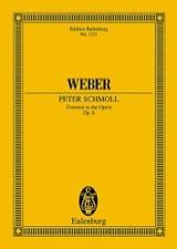 Peter Schmoll, Ouverture Carl Maria von Weber laflutedepan.com