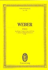 Carl Maria von Weber - Trio G-Moll, Opus 63 - Sheet Music - di-arezzo.co.uk