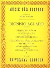 Sämtliche Stücke - Bd. 1 aus Guitare Schule laflutedepan