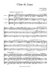 Claude Debussy - Clair de Lune - Partition - di-arezzo.fr