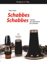 Traditionnel - Schabbes Schabbes - Klezmer for 3 Clarinets - Sheet Music - di-arezzo.co.uk