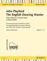 The English Dancing Master - 5 Easy Dances John Playford laflutedepan