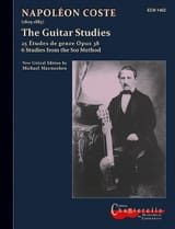 The Guitar Studies Macmeeken Napoléon Coste Partition laflutedepan.com